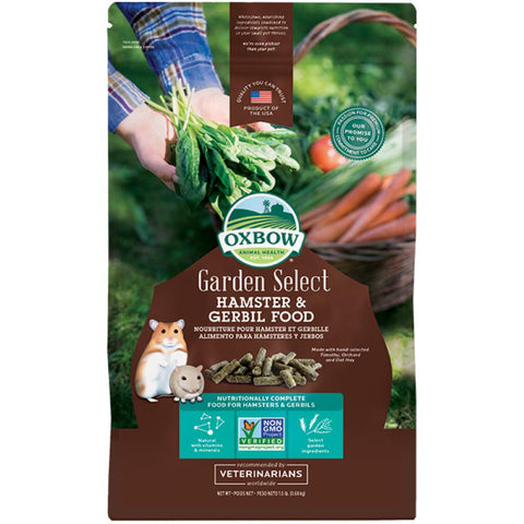 Oxbow Garden Select Hamster & Gerbil Food 2.5lb