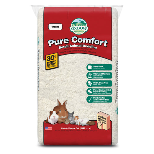 Oxbow Pure Comfort Bedding - White - Kohepets