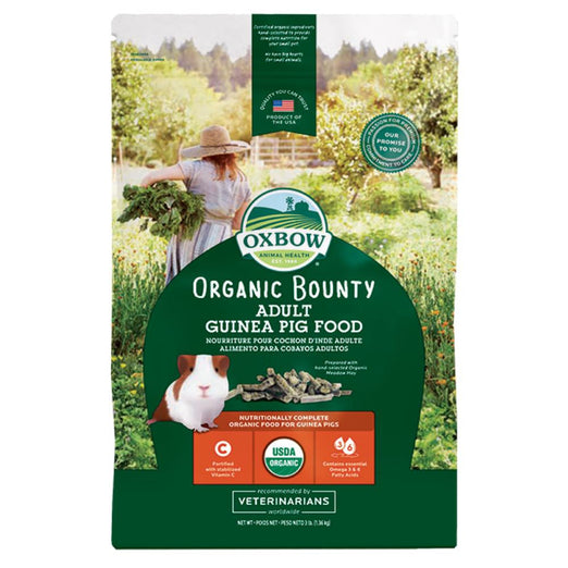 20% OFF: Oxbow Organic Bounty Adult Guinea Pig Food 3lb