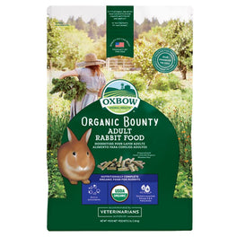 Oxbow Organic Bounty Adult Rabbit Food 3lb