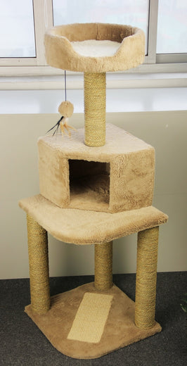 Pawise Cat Tower Cat Post - Kohepets