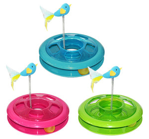 Pawise Kitty Roundabout Cat Toy - Kohepets