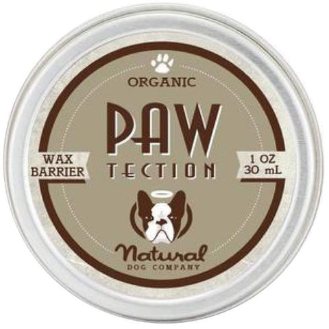 Natural Dog Company Organic Pawtection Healing Balm for Dogs (Tin) 1oz - Kohepets