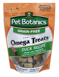 Pet Botanics Omega Treats Duck Recipe for Dogs