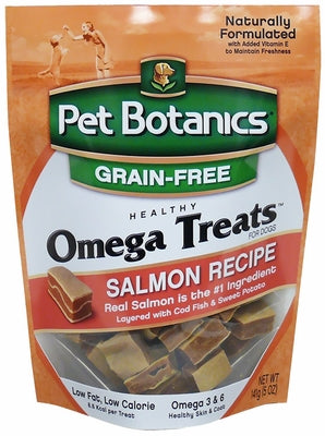 Pet Botanics Omega Treats Salmon Recipe for Dogs