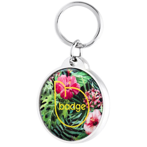 Pet Widget Badge Collar Tag (Paradise) - Kohepets