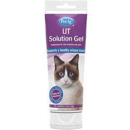PetAg Urinary Tract Solution Gel Cat Supplement 3.5oz
