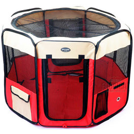 Petcomer Dog Playpen - Large