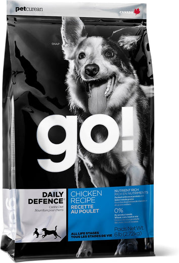 GO! Daily Defence Chicken Recipe Dry Dog Food - Kohepets