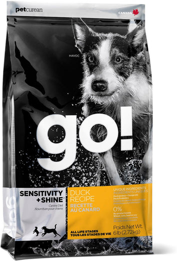 GO! Sensitivity + Shine Duck Recipe Dry Dog Food - Kohepets