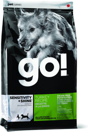 GO! Sensitivity + Shine Turkey Recipe Grain Free Dry Dog Food