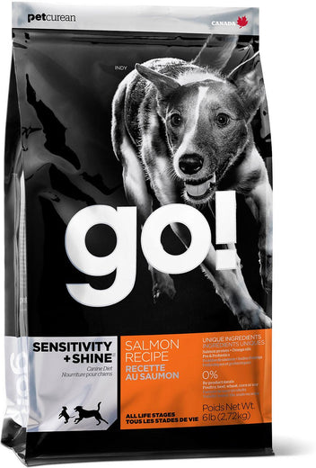 GO! Sensitivity + Shine Salmon Recipe Dry Dog Food - Kohepets