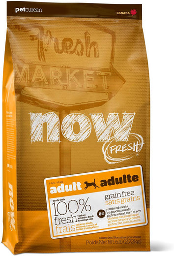 25% OFF: Now Fresh Grain-Free Adult Recipe Dry Dog Food