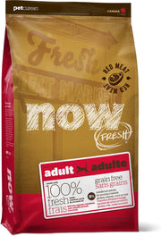 25% OFF: Now Fresh Grain-Free Red Meat Recipe Adult Dry Dog Food