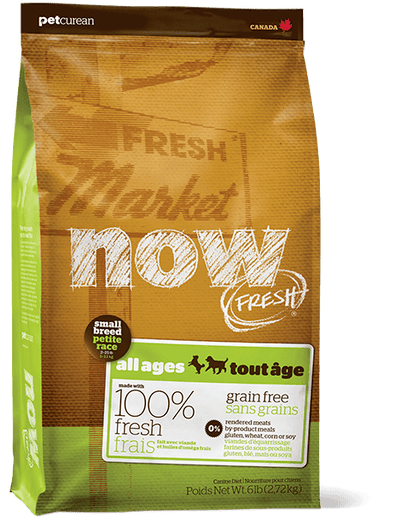 25% OFF: Now Fresh Grain-Free Small Breed Recipe Dry Dog Food - Kohepets