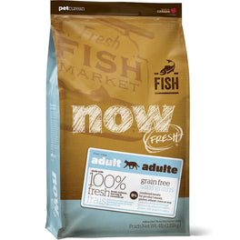 25% OFF: Now Fresh Grain-Free Fish Recipe Adult Dry Cat Food