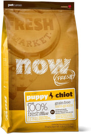 25% OFF: Now Fresh Grain-Free Puppy Recipe Dry Dog Food