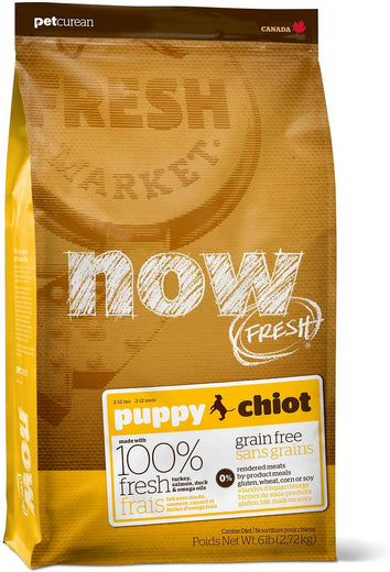25% OFF: Now Fresh Grain-Free Puppy Recipe Dry Dog Food - Kohepets
