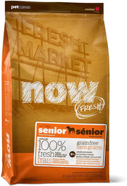 25% OFF: Now Fresh Grain-Free Senior Recipe Dry Dog Food