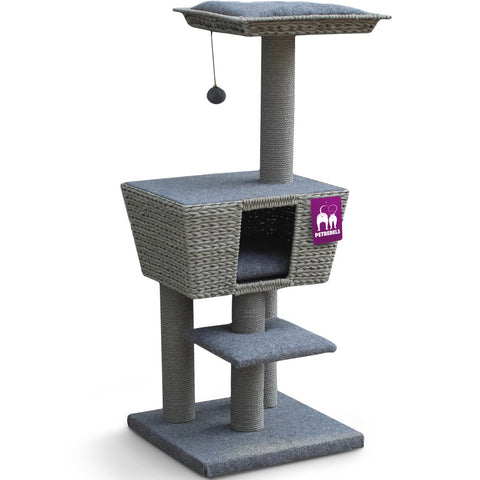 35% OFF: Petrebels Natural Eco Lovers Caribbean Sun 114 Cat Tree - Kohepets