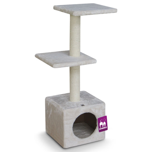 Petrebels Cheap Bastards Boston 90 Cat Tree (Cream) - Kohepets