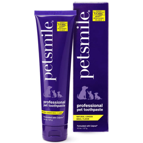 Petsmile Professional Natural London Broil Beef Flavour Toothpaste for Cats & Dogs 127g - Kohepets