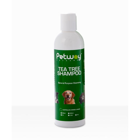 Petway Petcare Tea Tree Dog Shampoo 250ml - Kohepets