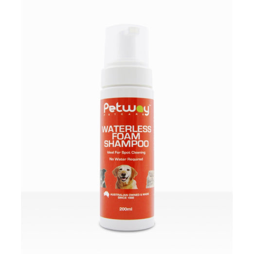Petway Petcare Waterless Foam Dog Shampoo 200ml - Kohepets