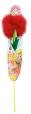 Petz Route Carnation Cat Stick Teaser Toy - Kohepets