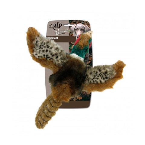 All For Paws Classic Pheasant Large Dog Toy - Kohepets