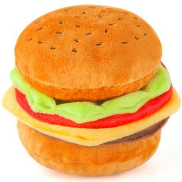 PLAY American Classic Burger Dog Plush Toy