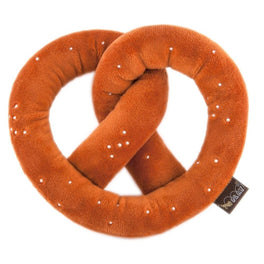 PLAY International Classic Pretzel Plush Dog Toy