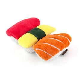 PLAY International Classic Sushi Plush Dog Toy