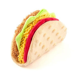 PLAY International Classic Taco Plush Dog Toy