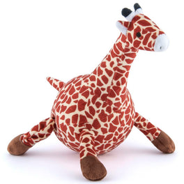PLAY Safari Wildlife Gabi The Giraffe Plush Dog Toy