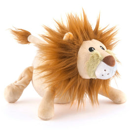 PLAY Safari Wildlife Leonard The Lion Plush Dog Toy