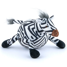 PLAY Safari Wildlife Zara The Zebra Plush Dog Toy