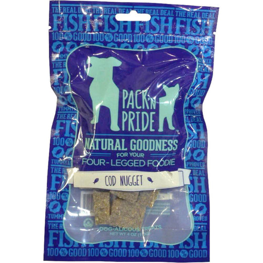 BUY 2 GET 1 FREE: Pack 'N Pride Cod Nugget Dog Treats 113g