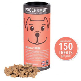Pooch & Mutt Brain & Train Dog Treats 125g