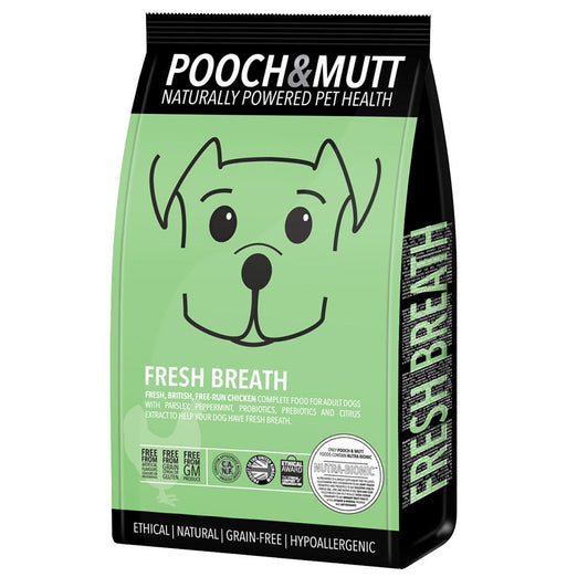 Pooch & Mutt Fresh Breath Grain Free Dry Dog Food 2kg