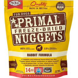 Primal Freeze-Dried Rabbit Formula Grain-Free Dog Food