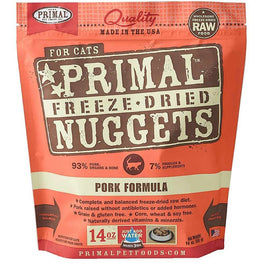 BUNDLE DEAL: Primal Freeze Dried Feline Pork Formula Cat Food