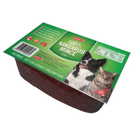 Prime100 100% Kangaroo Mince Frozen Raw Pet Food