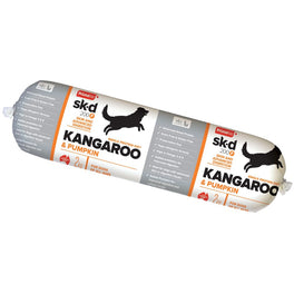 Prime100 Sk-D 200 Kangaroo & Pumpkin Grain Free Cooked Frozen Roll Dog Food 2kg