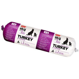 Prime100 Sk-G 200F Turkey & Flaxseed Grain Free Cooked Frozen Roll Dog Food 2kg