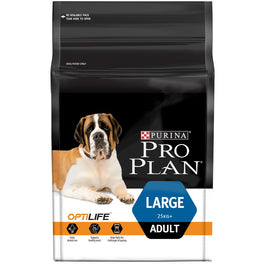 Pro Plan OptiLife Large Adult Dry Dog Food 12kg
