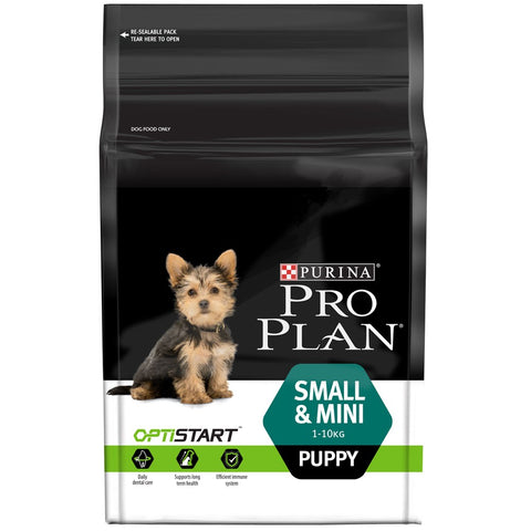 Pro Plan OptiStart Small & Mini Puppy Dry Dog Food 2.5kg - Kohepets