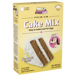 'FREE GIFT': Puppy Cake Banana Microwaveable Cake Mix For Dogs 255g
