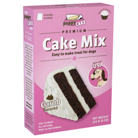 40% OFF: Puppy Cake Carob Microwaveable Cake Mix For Dogs 255g (Exp 15 Aug 19)