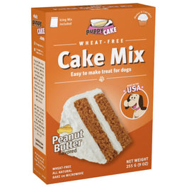 'FREE GIFT': Puppy Cake Peanut Butter Microwaveable Cake Mix For Dogs 255g